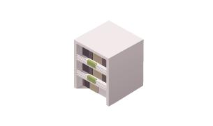 一棟マンション・アパートの図